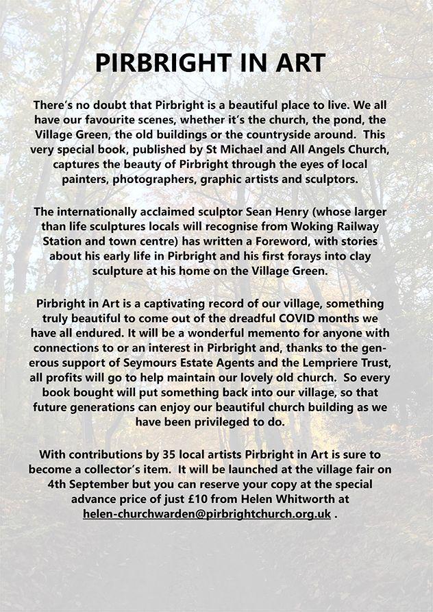 Pirbright in Art Book