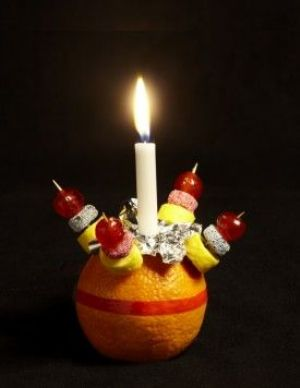 This is a Christingle