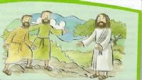 Jesus calls Phillip and Nathaniel