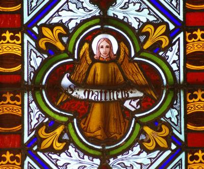 Window detail St Matthew