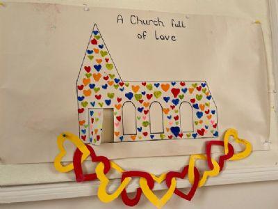 A church full of love - by Messy Church