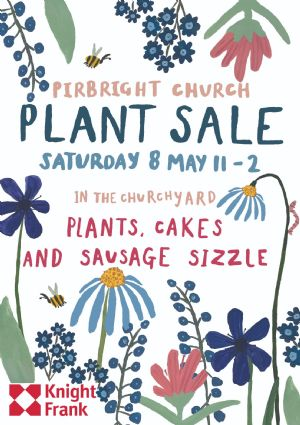 Plant Sale on Saturday 8th May