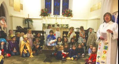 Messy Church at Christmas 2016
