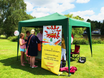 Messy Church at the Community Games