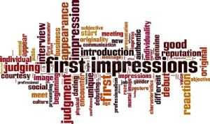 First impressions wordle