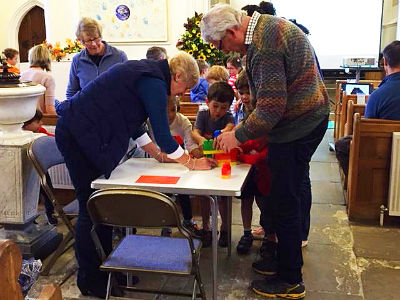 Messy church September 2017