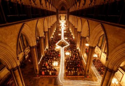 Salisbury Cathedral at Advent