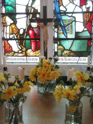 Lady Chapel window