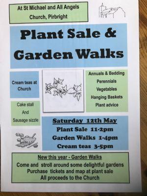 Plant sale publicity