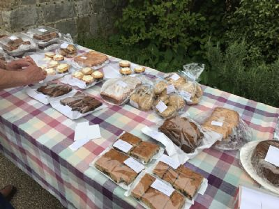 Cake stall 1 at 2018 plant sale