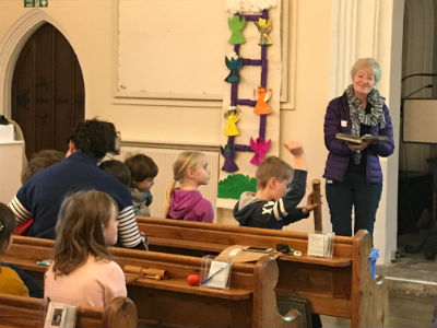 Messy church Feb 2018