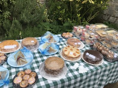 Cake stall 2 at plant sale 2018