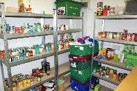 Food Bank Store Room