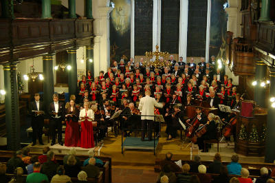 Penrith Singers in concert, December 2011
