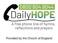 A new phone service from the Church of England