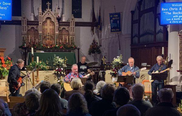 Rocking Revs performing