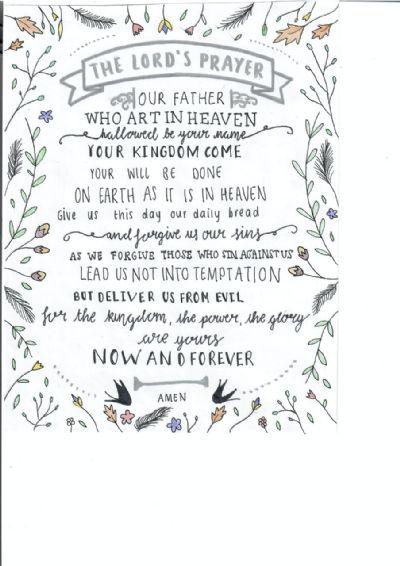 Lords Prayer Ellie Feakins
