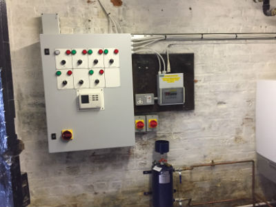 New control panel July 2017
