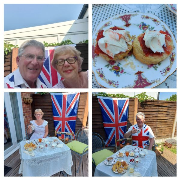 Sue and Steve VE Day 2020