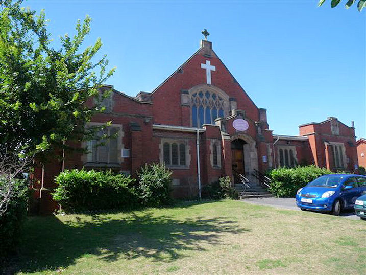 Birkdale URC church front
