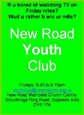 Youth Club Flyer Jan 2010