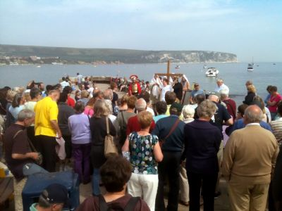 Swanage Churches Together Good Friday Walk of Witness