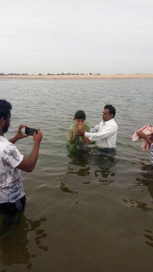 India baptism 1