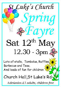 Spring Fayre poster