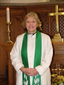 Reverend Caroline Glass Gower - Vicar - St Lukes Church Tunbridge Wells
