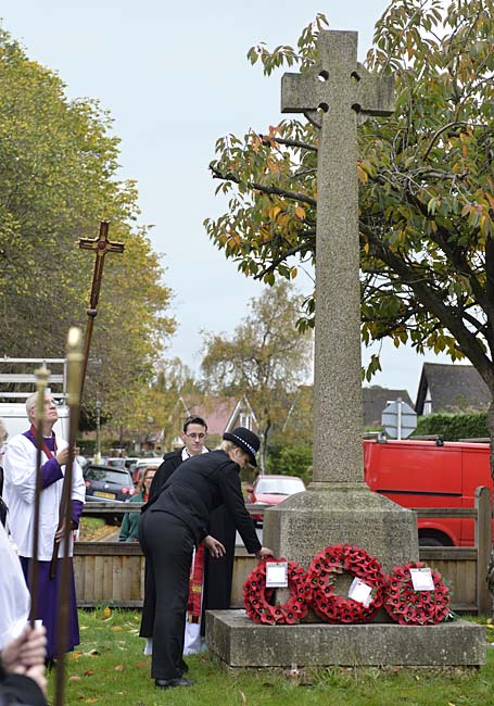 Remembrance 2015 Earley Police