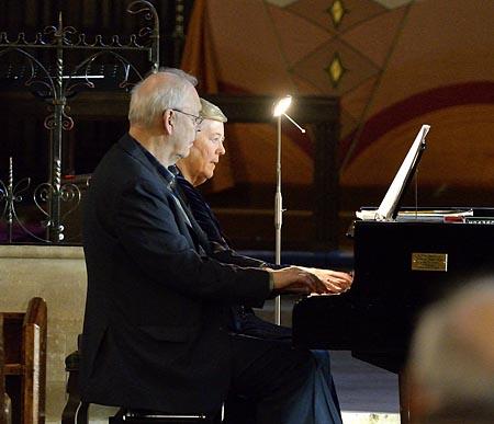 Piano duets by Anne Nunn  Jonathan Cohen