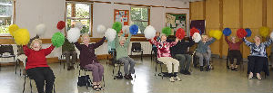SHINE - gentle exercise for the over 50s