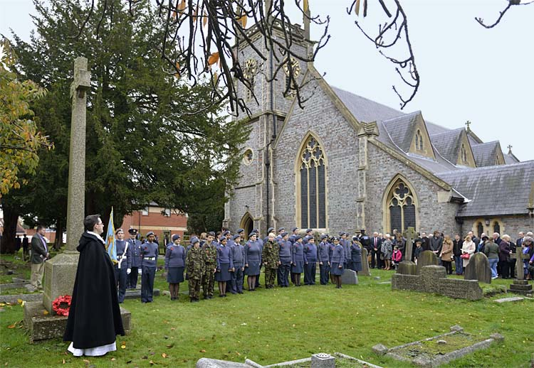 Remembrance 2015  Air Cadets