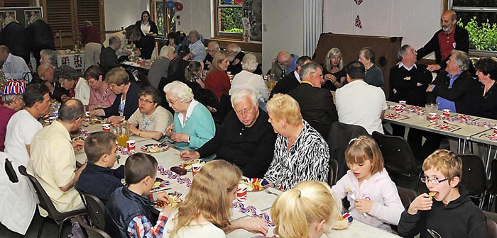 Parish lunch in Jubilee Year