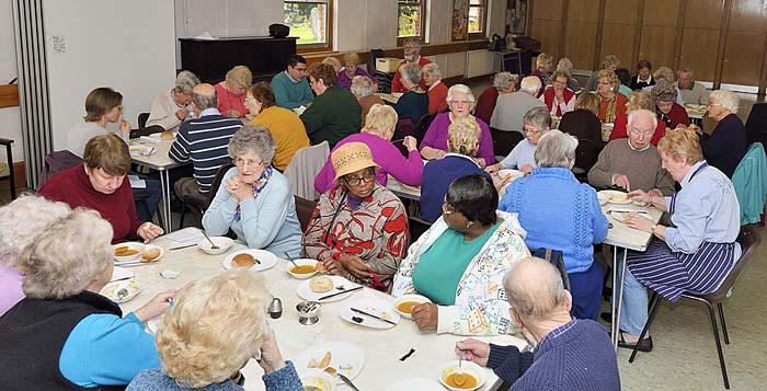 Friendship Lunch during Lent