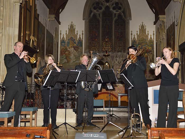 The Chiltern Brass Quintet