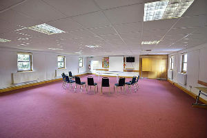 Large meeting room upstairs