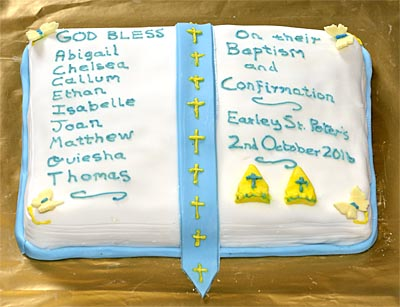 Confirmation cake Oct 2016