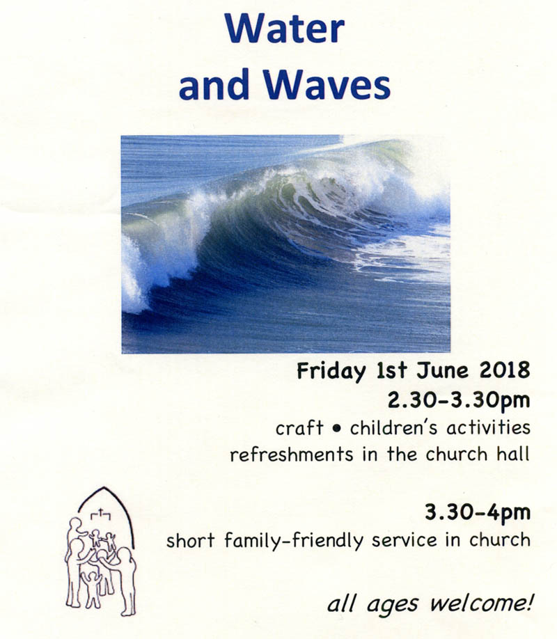 Water and waves 1 June 2018