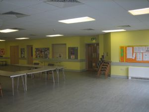 Lower hall view 2