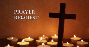 Candles for prayer requests