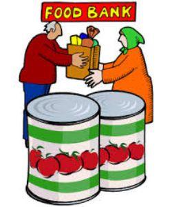Cartoon of food bank