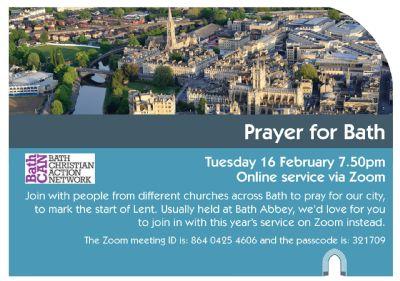 Pray for Bath