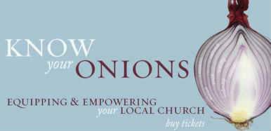 know your onions Christian Resources Exhibition