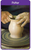 we are the clay God is the Potter