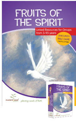 Fruit of the Spirit activity book  game