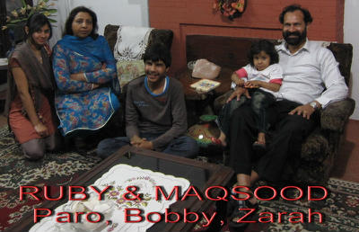 Bible family link in Pakistan who have had mustard seed games