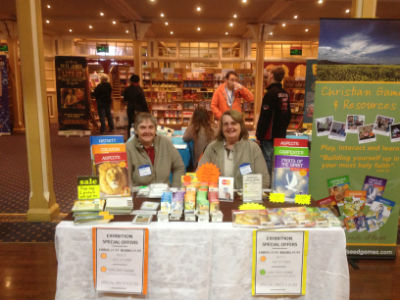 mustard seed games stall