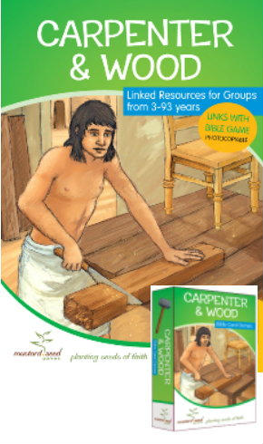 jobs and people in the Bible activity book and game