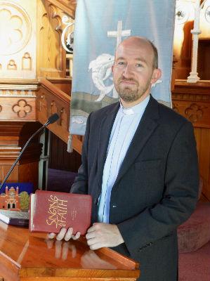 Our minister, Revd Geoffrey Farrar